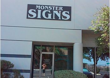 Tucson sign company Monster Signs LLC