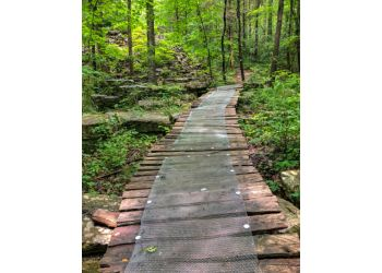Huntsville hiking trail Monte Sano State Park Trail