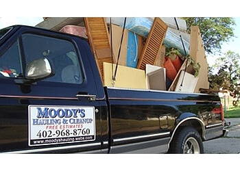 Omaha junk removal Moody's Hauling & Cleanup