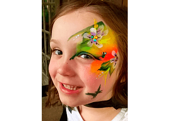 Cary face painting Moon Faces Painting