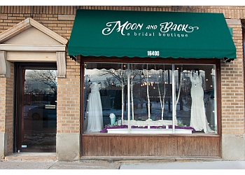 Cleveland bridal shop Moon and Back