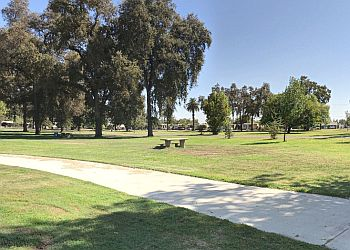 Visalia public park Mooney Grove Park