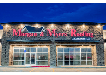 Amarillo roofing contractor Morgan & Myers Roofing and Exteriors, LLC