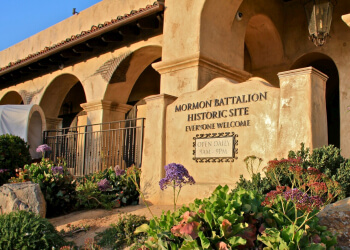San Diego landmark Mormon Battalion Historic Site