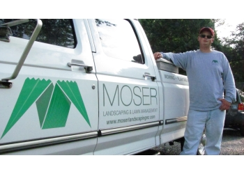 Winston Salem lawn care service Moser Landscaping & Lawn Management, LLC