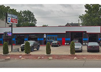 Detroit car repair shop Motechn automotive