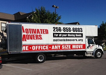 Huntsville moving company Motivated Movers