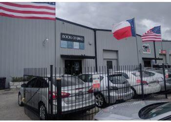Houston used car dealer Motors On Wheels