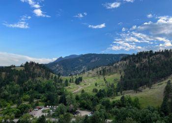 Boulder hiking trail Mount Sanitas Trailhead