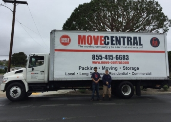 San Diego moving company Move Central Inc.