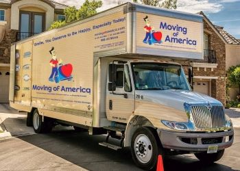 Newark moving company Moving of America