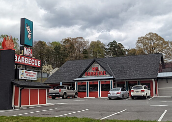 Winston Salem barbecue restaurant Mr. Barbecue