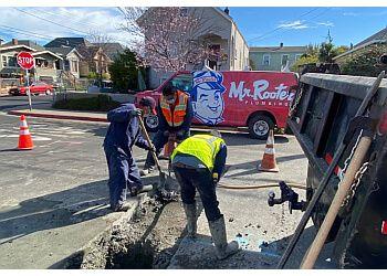 Oakland plumber Mr. Rooter Plumbing