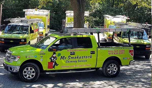 Raleigh chimney sweep Mr. Smokestack Chimney