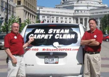 Madison carpet cleaner Mr. Steam Carpet & Upholstery Cleaning
