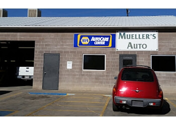 Pueblo car repair shop Mueller's Auto Inc.