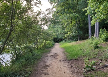 Atlanta hiking trail Murphey Candler Park