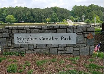 Atlanta hiking trail Murphey Candler Park Trail