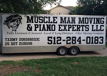 Austin moving company Muscle Man Moving & Piano Experts