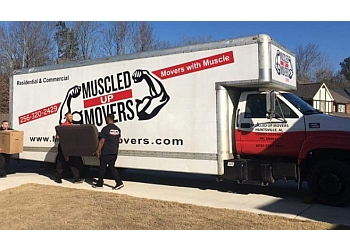 Huntsville moving company Muscled Up Movers