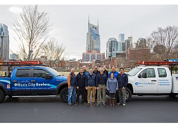 Nashville roofing contractor Music City Roofers