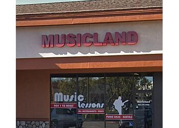 Fontana music school Musicland