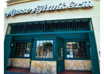 Los Angeles steak house Musso and  Frank Grill