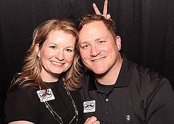 Des Moines photo booth company Mustaches and Smiles Photo Booths