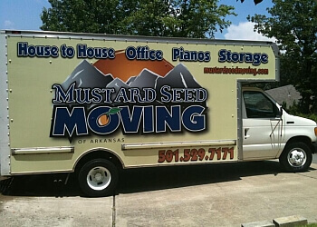Mustard Seed Moving of Arkansas Little Rock Moving Companies