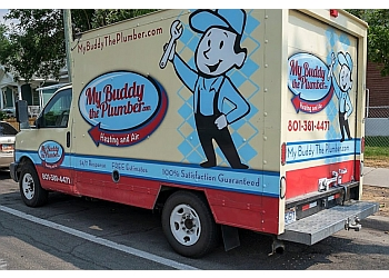 Salt Lake City plumber My Buddy The Plumber Heating & Air