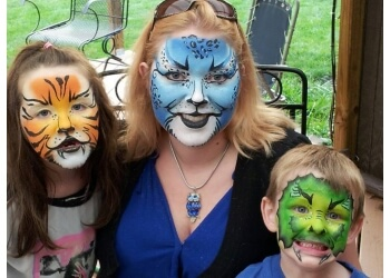 Fort Wayne face painting Mystic Brush, LLC