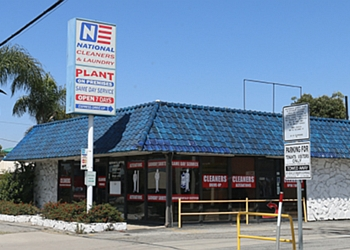 Long Beach dry cleaner NATIONAL CLEANERS & LAUNDRY