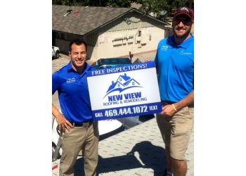 Dallas roofing contractor NEW VIEW ROOFING