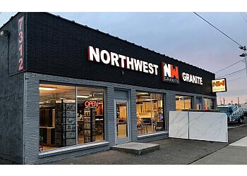 Spokane custom cabinet NW Granite Inc.