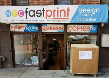 New York printing service NYC FAST PRINT