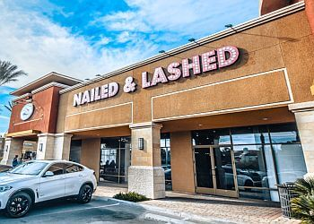 Las Vegas nail salon Nailed & Lashed