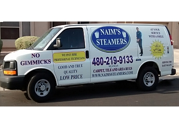 Chandler carpet cleaner Naims Steamers