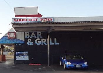 Las Vegas pizza place Naked City Pizza Shop