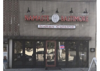 Baltimore indian restaurant Namaste Baltimore