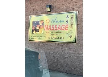 Visalia massage therapy Nana Massage