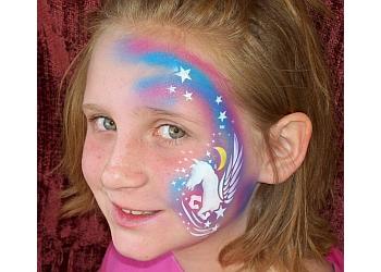 Phoenix face painting Nancy Kartoon, LLC