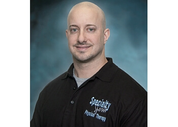 McAllen physical therapist Nathan Saffels, PT, DPT, OCS, SCS