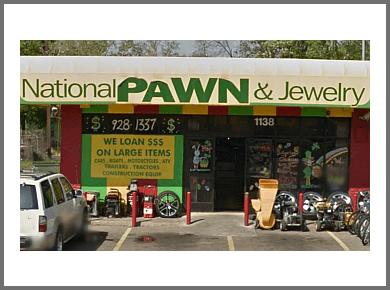 Austin pawn shop National Pawn & Jewelry