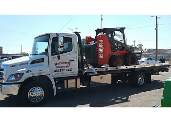 Detroit towing company Nationwide Recovery, Inc