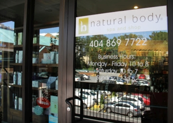 Atlanta spa Natural Body Spa and Shop