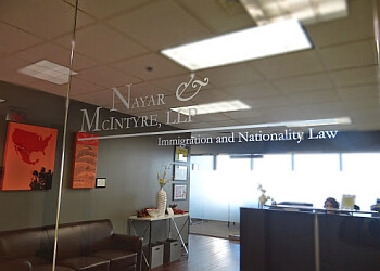 Irving immigration lawyer Nayar & McIntyre, LLP