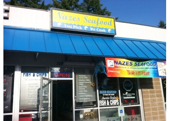 Kent seafood restaurant Nazes Seafood