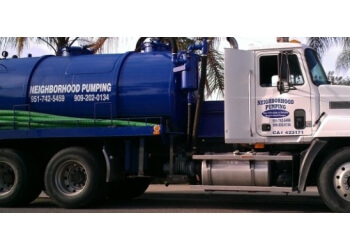 Riverside septic tank service Neighborhood Pumping