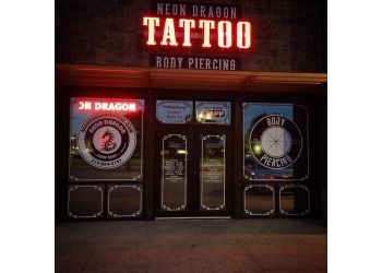 Cedar Rapids tattoo shop Neon Dragon Tattoo
