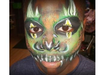 Des Moines face painting Nerd Art Facepainting company